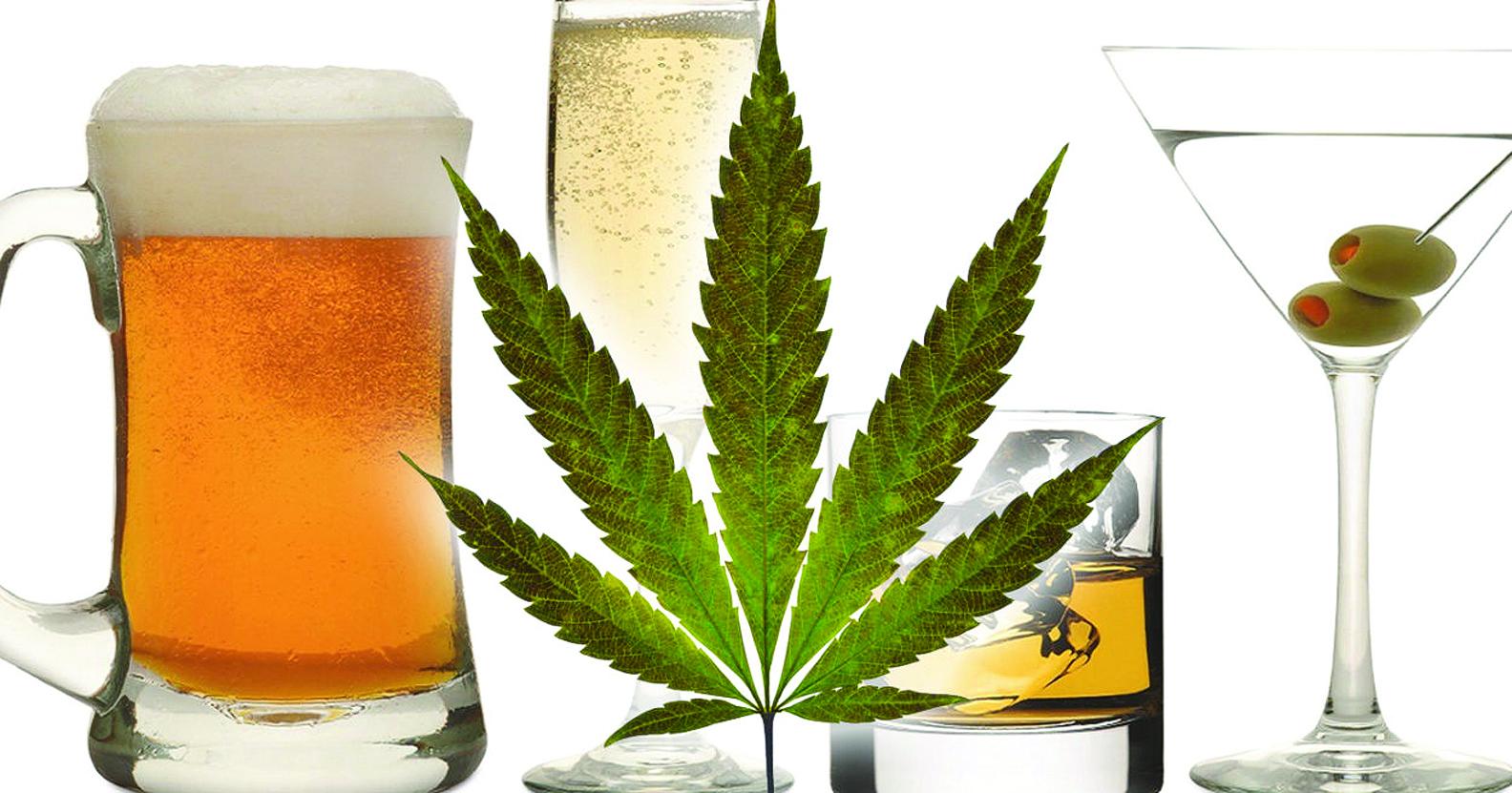 alcohol marijuana
