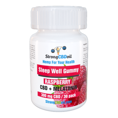 Sleep Well Gummie Raspberry 300mg