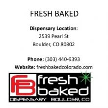 Fresh Baked / Boulder, Colorado / Dispensary
