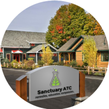 Sanctuary ATC / Plymouth, New Hampshire 03264 / Dispensary